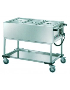 Electric s/steel bain-marie...