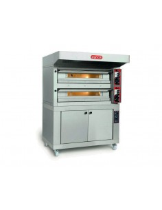 Twin deck electric pizza...