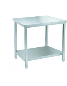 PT6R - S/steel table 80 cm...