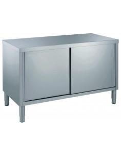 S/steel cupboard 160 cm...