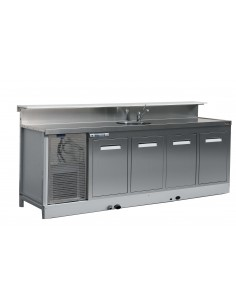4 door refrigerated bar...