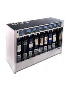 8 wine bottles dispenser...