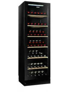 Glass door wine cooler 400...