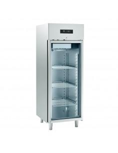 Kühlschrank Edelstahl,...