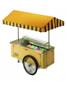 Ice-cream cart 6 flavours -...