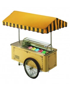 Ice-cream cart 6 flavours -...