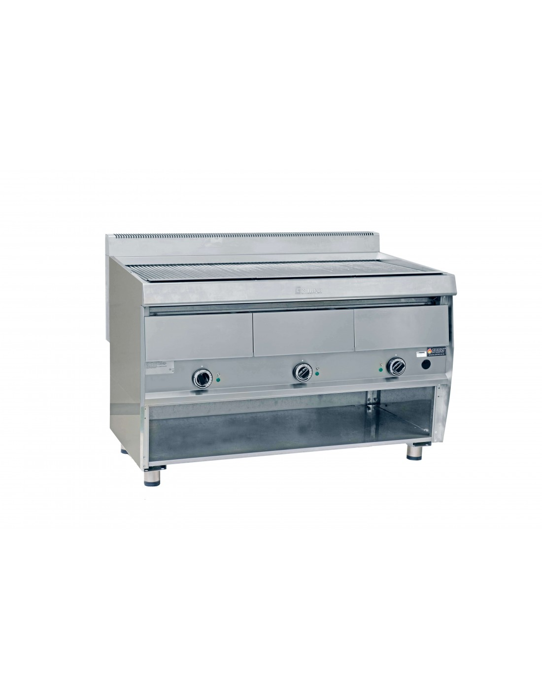 Armadio 120 Cm.Electric Grill 120 Cm Wide On Empty Base Cft12
