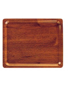 Self service tray - walnut...