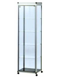 Single door glass display...