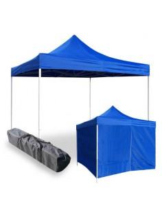 4x4 mt Faltzelt Blau - GAZEBO