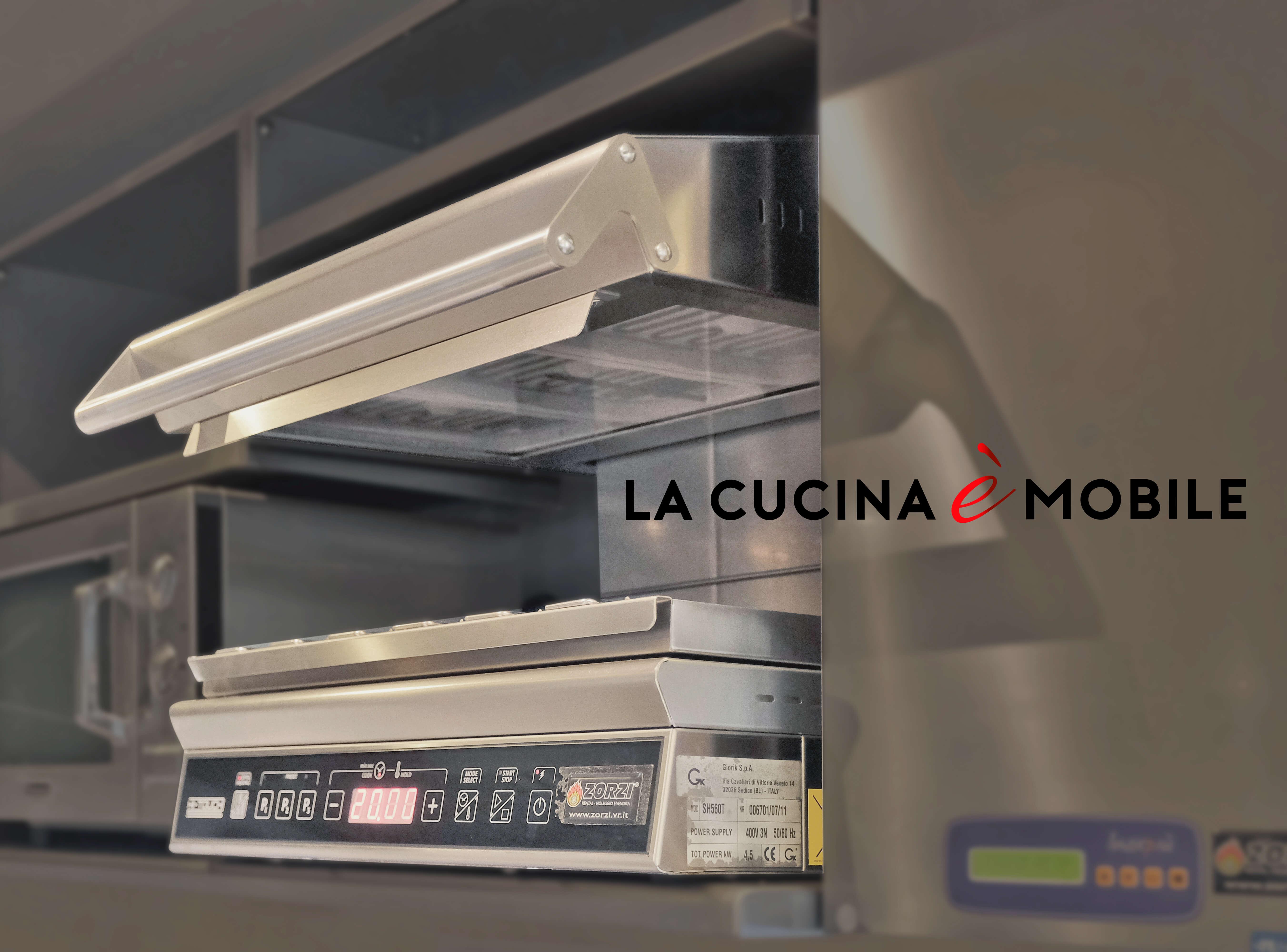 La cucina è mobile