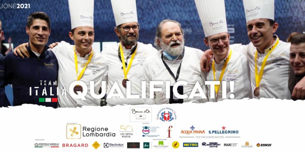 IL TEAM ITALIA VOLA ALLA FINALE DELBOCUSE D'OR A LIONE NEL 2021!